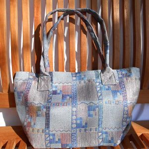 Shopper Tateyoko Unikat Handarbeit / Shopper Bag Tateyoko Single Piece Handmade © KIMONO-KIMONO