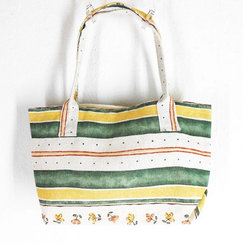 Shopper Hanamichi Unikat Leinen / Shopper Bag Hanamichi Single Piece Linen © KIMONO-KIMONO